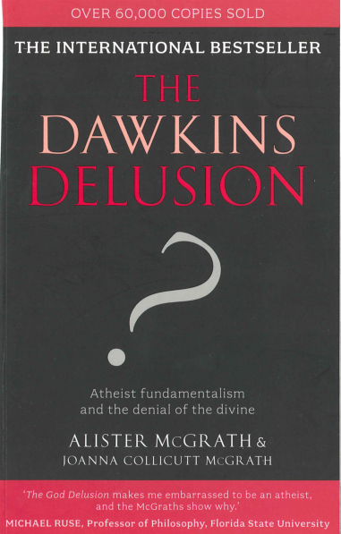 book review of a delusion of Before we get to the science, comfort talks about books books have a designer someone had to illustrate the pages, write the words, put the product together, etc.